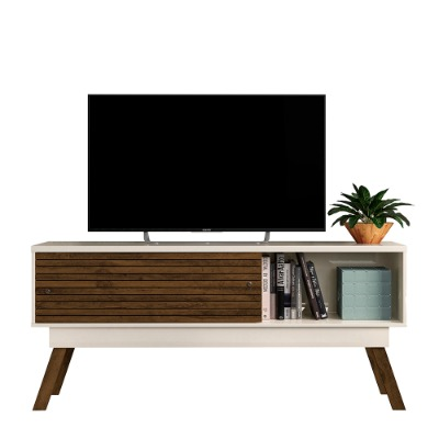 Rack para Tv Frizz 1.5 color Off white / Savana