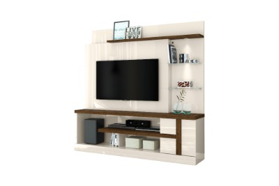 Modular para Tv Alan color Off white / Savana