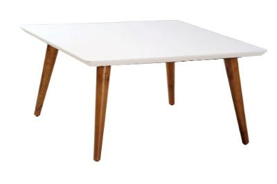 Mesa de living central cuadrada Eames