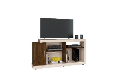 Rack para TV MIGUEL color off white con savana