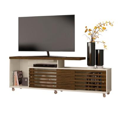 Rack para Tv FRIZZ 397 color color off white/Savana