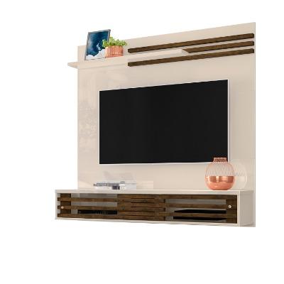 Panel para TV FRIZZ SUBLIME color Off White con Savana