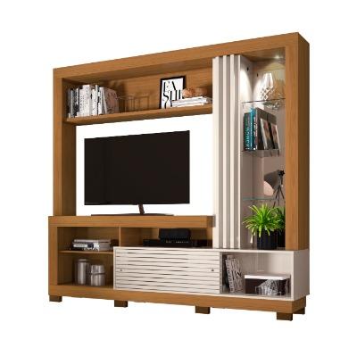 Modular para TV FRIZZ R.666. Con luz LED colror Natura/Off White