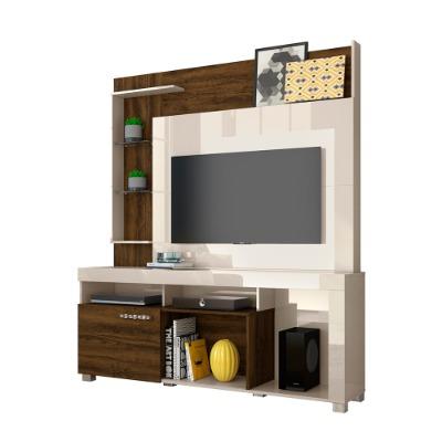 Modular para TV ÍCARO. Color Off White/Savana