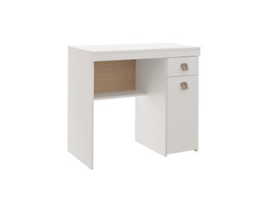 Escritorio con 1 puerta y 1 cajón R. 4032 color blanco