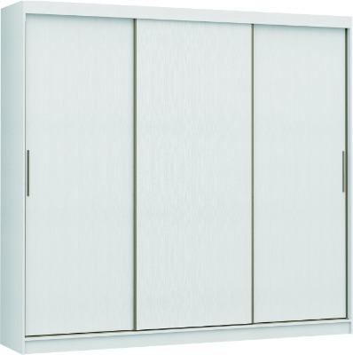 Placard 0926 VERSATIL 3 puertas corredizas color Blanco. Espejo opcional