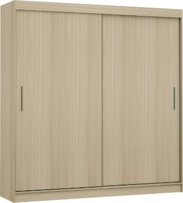 Placard 3680 VERSATIL 2 puertas corredizas color Nogueira. Espejo opcional