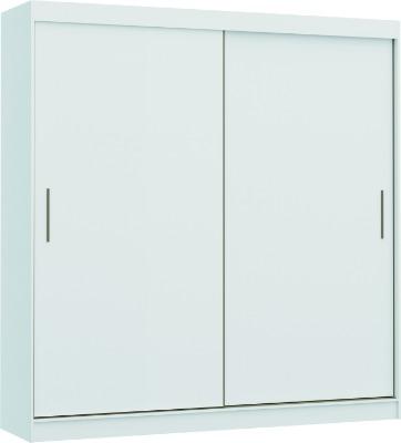 Placard 3680 VERSATIL 2 puertas corredizas color Blanco. Espejo opcional