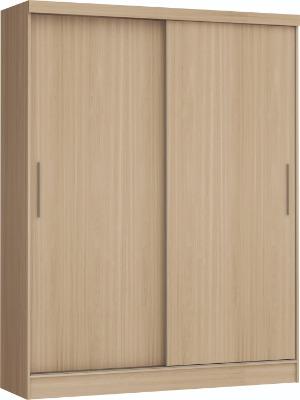 Placard 3672 VERSATIL 2 puertas corredizas color Nogueira. Espejo opcional.