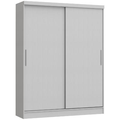 Placard 3672 VERSATIL 2 puertas corredizas color Blanco. Espejo opcional