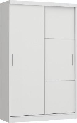 Placard 3825 VERSATIL 2 puertas corredizas color Blanco. Espejo opcional